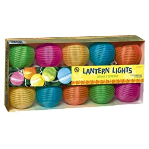 Click to buy Grasslands Road Round Multi Color Lantern 10 Patio Light Set from Amazon!