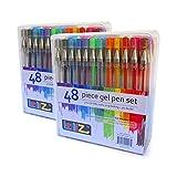 LolliZ Gel Pens | 96 Gel Pen Set - 2 Packs of 48 pens each.