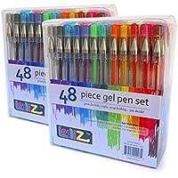 96-Count LolliZ Gel Pen Tray Set (2 x 48-Packs)