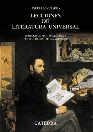 Lecciones de literatura universal (Crítica Y Estudios Literarios - Historias De La Literatura)