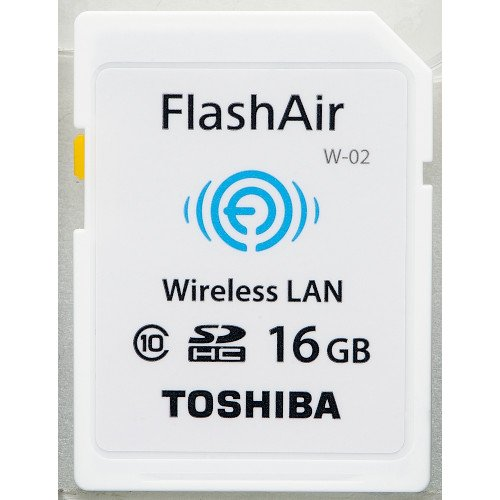 東芝 SDHCメモリーカード(FlashAir) 16GB SD-WC016G