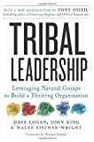 img - for Tribal Leadership: How Successful Groups Form Organically: Leveraging Natural Groups to Build a Thriving Organization by Dave Logan, John King, Halee Fischer-Wright (2011) Paperback book / textbook / text book