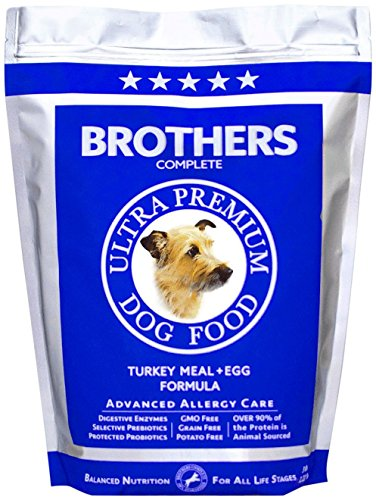 Brothers Complete Turkey & Egg Advanced Allergy Formula - 5lb (Brothers Allergy Dog Food compare prices)