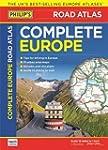 Philip's Complete Road Atlas Europe 2016