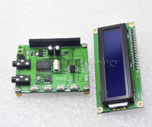 DT210 Audio decoding DTMF decoder encoder DTMF module display instruments (Dtmf Module compare prices)