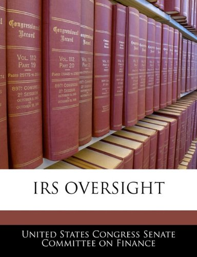 IRS OVERSIGHT