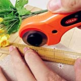 Safety Rotary Cutter Fabric Cloth Cutting Sewing Quilting Quilters Crafts Tool