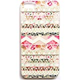 JIAXIUFEN TPU Coque - pour Apple iPhone 4 4S Silicone Étui Housse Protecteur- Pink Aztec Tribal