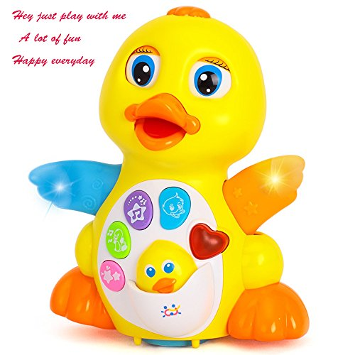 AOTOP-Musical-Duck-Toy-Lights-Action-With-Adjustable-Sound