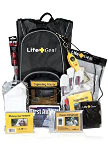 Life Gear Bug out Bag Kit Emergency Survival Backpack - LG492