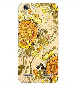 PrintDhaba Floral Design D-1441 Back Case Cover for LENOVO LEMON 3 (Multi-Coloured)