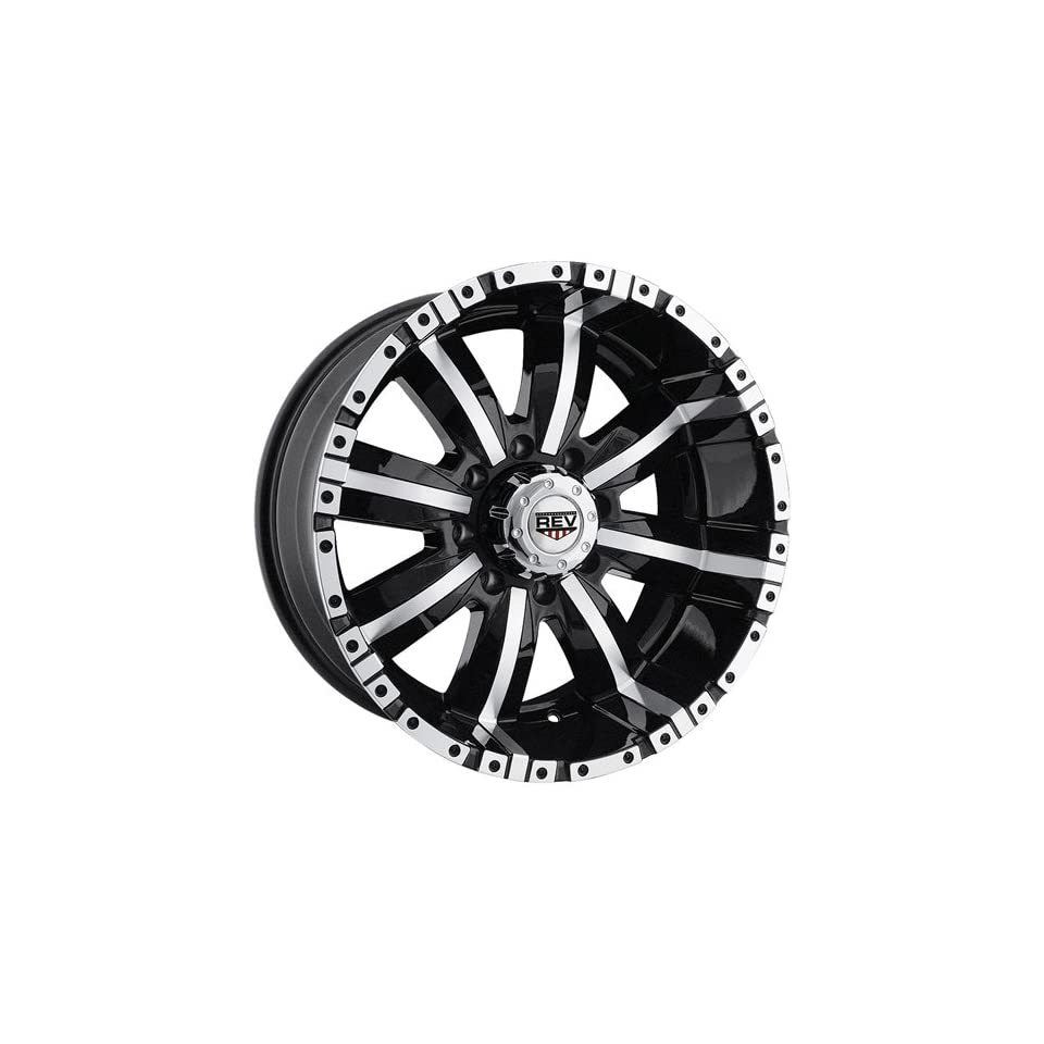 KO Dirty Harry 18 Black Machined Wheel / Rim 5x5 with a 10mm Offset and a 82.55 Hub Bore. Partnumber 808MB 8957310