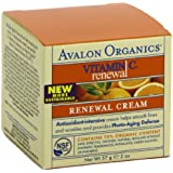 Avalon Organics Vitamin C Renewal Creme , 2 Ounce Bottle