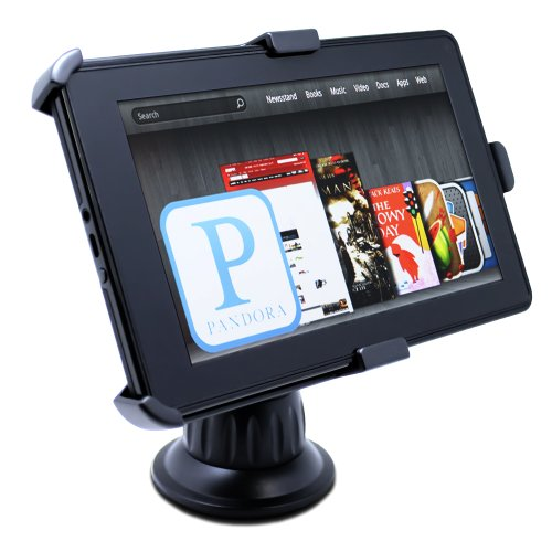 Satechi CR-3605 Car Holder Mount for Kindle Fire and Samsung Galaxy Tab 7-Inch on Windshield and Dashboard