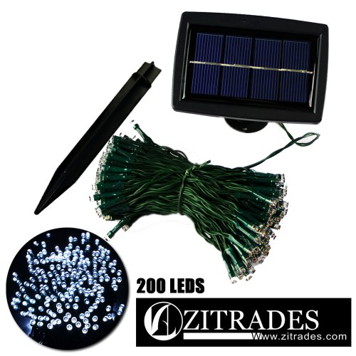 ZITRADES® Waterproof 72FT 200LED 3 Modes White