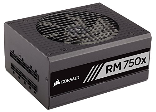 Corsair RMx Series, RM750x, 750W, Fully Modular Power Supply, 80 PLUS Gold Certified, 10 year warranty (Modular 750 Watt Psu compare prices)