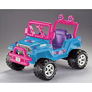 Power Wheels Fisher-Price Fire Rock Jeep Wrangler