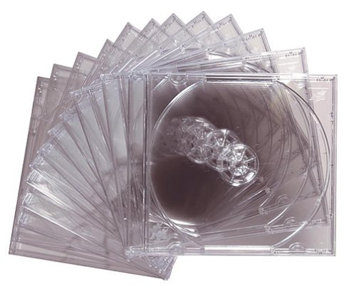 Maxell 190069 12-Pack CD or CDR Jewel Cases