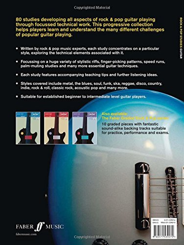 Rock & Pop Studies (Guitar): 80 Progressive Studies and Exercises (Faber Edition)