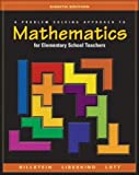 Problem Solving Approach to Mathematics for Elementary School Teachers (0321156803) by Rick; Libeskind, Shlomo; Lott, Johnny W.