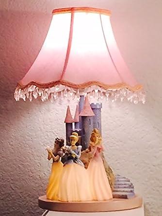 Disney 3 Princesses Castle Table Lamp By Hamptonbay