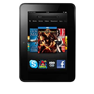 Kindle Fire HD 7 Wi-Fi, 16GB Tablet with Sponsored Ads Screensaver
