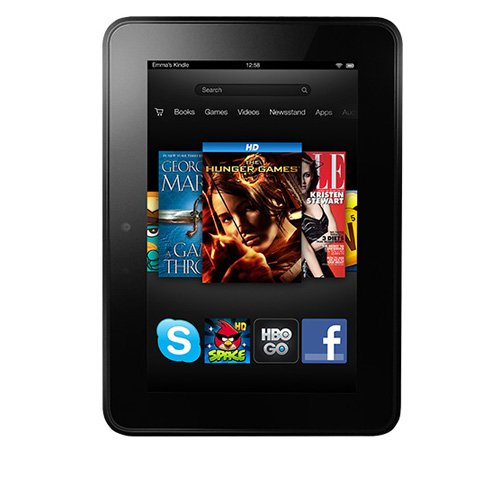 Kindle Fire HD 7&quot;, Dolby Audio, Dual-Band Wi-Fi, 16 GB