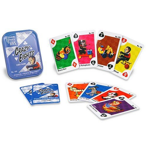 Fisher Price-Crazy Eights Playing Cards - 1