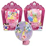 Set of 3 Disney Princess Night Lights - Belle, Cinderella, Snow White, Sleeping Beauty
