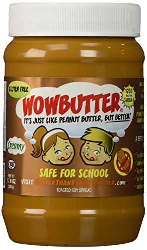 Wowbutter Creamy Butter 17.6oz (Peanut Butter Alternative compare prices)