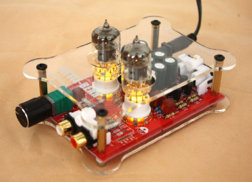 Ship From Usa 6J1 Hifi Stereo Tube Valve Preamp Preamplifier Amplifier Warm Up The Sound