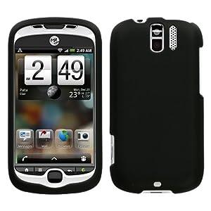 Black Rubberized Protector Case for T-Mobile myTouch 3G Slide