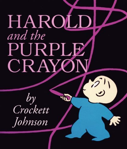 Harold and the Purple Crayon Board Book by Johnson, Crockett (Brdbk Edition) [Hardcover(2012)] (Harold Purple Crayon Board Book compare prices)