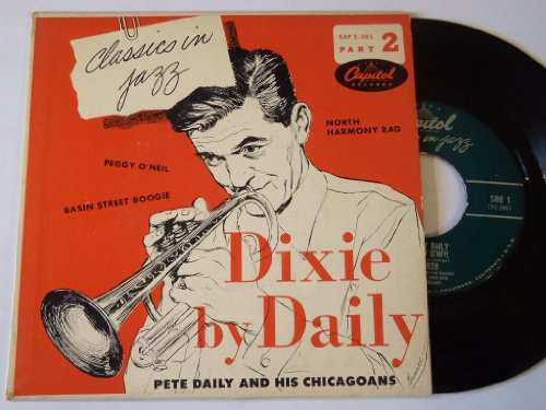 """Dixie By Daily Part 2 Ep 7"""" 45 - Capitol - Eap 2-385"""