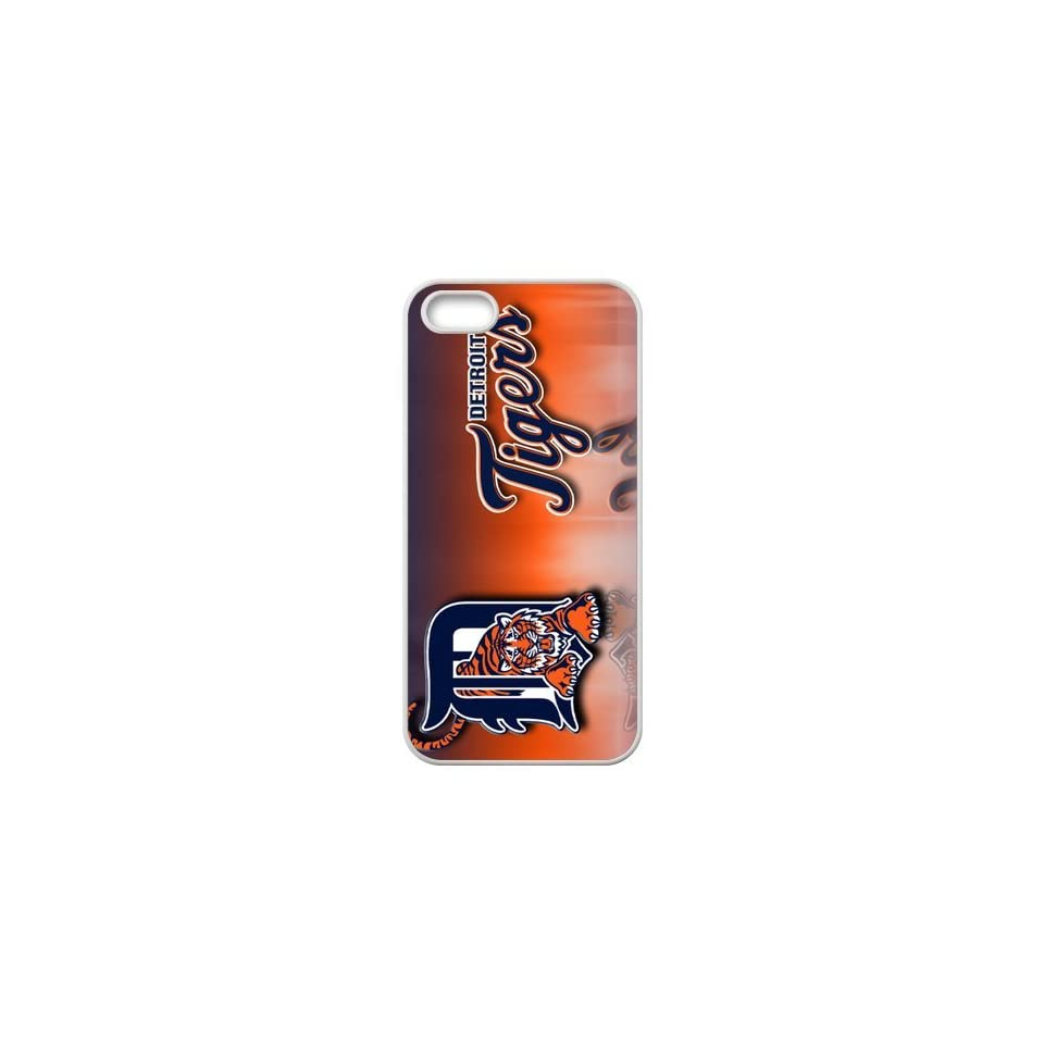 MLB Detroit Tigers Logo High Quality Inspired Design TPU Protective cover For Iphone 5 5s iphone5 NY432 Cell Phones & Accessories