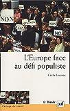 echange, troc Cécile Leconte - L'Europe face au défi populiste
