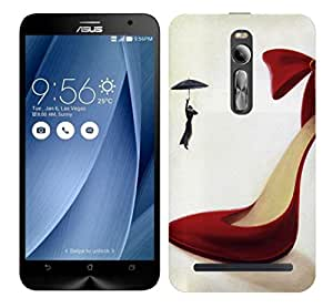 TrilMil Printed Designer Mobile Case Back Cover For Asus Zenfone 2 ZE550ML