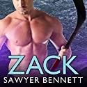 Zack: Cold Fury Hockey Series #3 (       UNABRIDGED) by Sawyer Bennett Narrated by Cris Dukehart, Graham Halstead