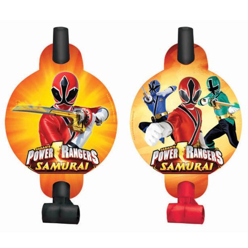 Power Rangers Samurai Blowouts / Favors (8ct)