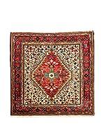 QURAMA Alfombra Persian Tuserkan Rojo/Multicolor 134 x 135 cm