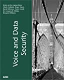 img - for Voice and Data Security book / textbook / text book