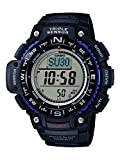 Casio Unisex Armbanduhr Collection Multi Task Gear Anaolg/ Digital Quarz Schwarz Resin Sgw-400H-1Bver