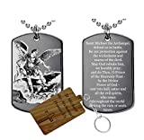 St Michael(Stainless Steel)the archangel prayer-Medal-Necklace