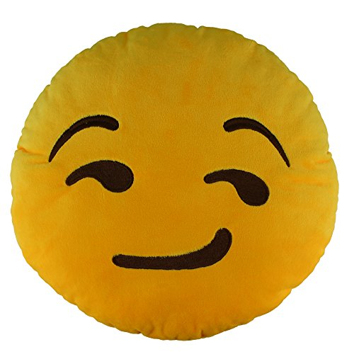 138-emoji-smirking-emoticon-round-cushion-pillow-stuffed-plush-soft-toy