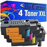 4x Toner-Kartusche XXL für Dell C1660 C1660w PlatinumSerie