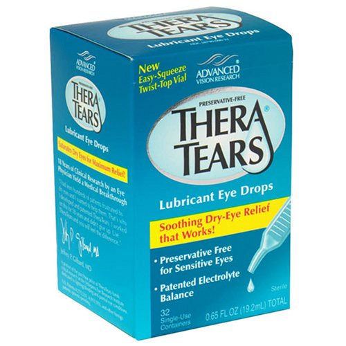 Thera Tears Theratears Lubricant Eye Drops, Single-Use Containers - 32 Ea