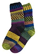 Solmate October Morning Mismatched USA made Socks