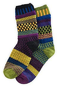 Solmate October Morning Mismatched USA made Socks