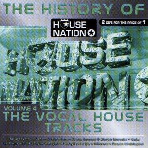 Various artists history of house nation v 4 for History of house music