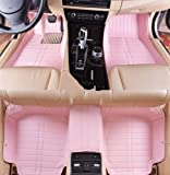 AudelTech Buick Park Avenue Floor Mats & Car Mats Next Generation Custom Fit Full Surrounded Luxury Floor Liners (Pink,2007-2014)
